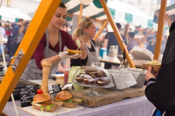 Edinburgh food festivals in October 2016