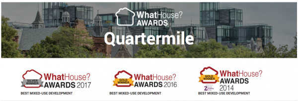 Quartermile wins again at the WhatHouse? Awards 2017!
