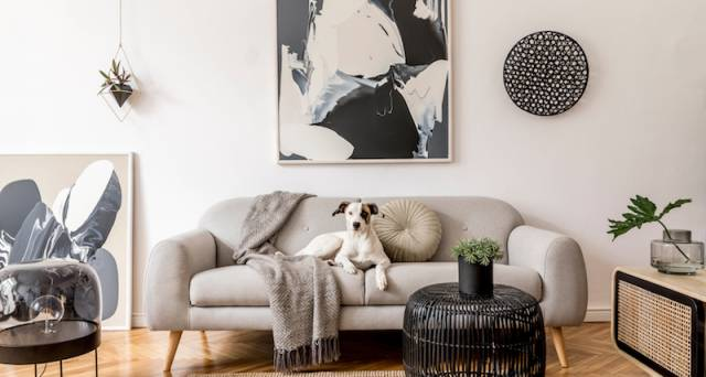 4 ways to make sure your maximalist living room doesn't feel cluttered