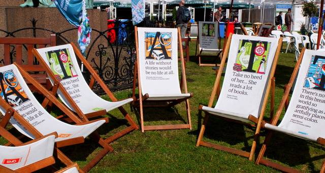 A guide to the Edinburgh International Book Festival