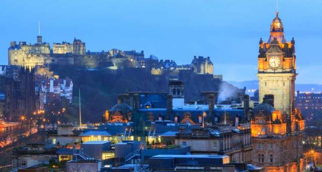 Edinburgh: New Town Vs Old Town