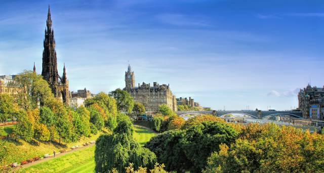 Edinburgh is the UK's greenest city, so here are 6 ways to enjoy it