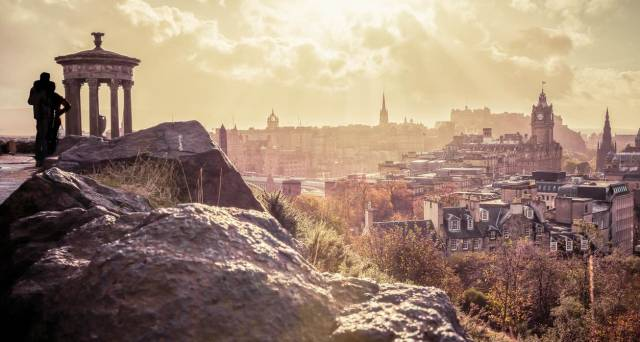 Edinburgh named the UK's most 'walkable' city