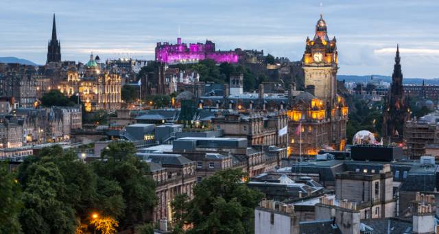 Edinburgh has been named the top city in the UK for economic growth