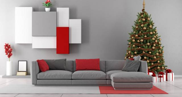 How to decorate a small apartment for the festive season