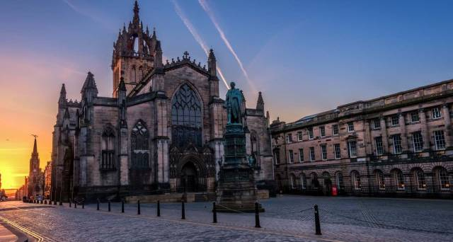 How did some of Edinburgh's most famous landmarks get their name?
