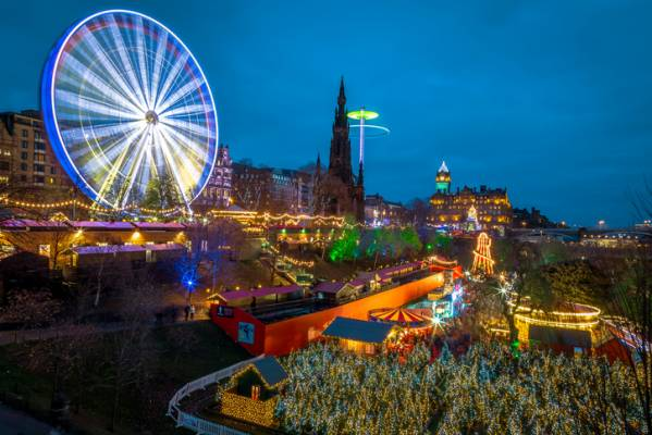 Edinburgh has been named the top city in the UK for ...