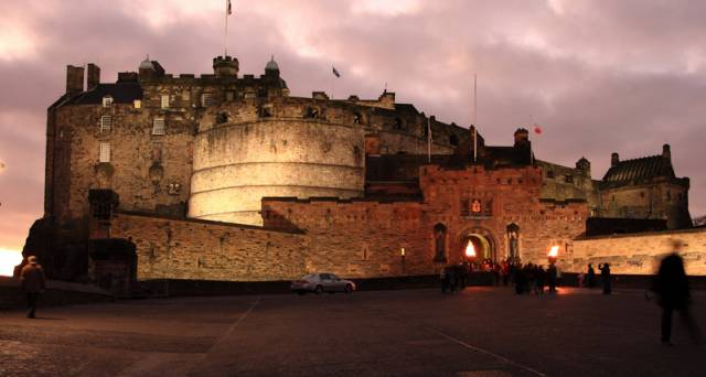 Edinburgh Castle attracts over 2 million visitors a year for the first time