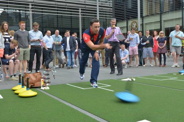 Clean sweep: Quartermile carpet curling for charity