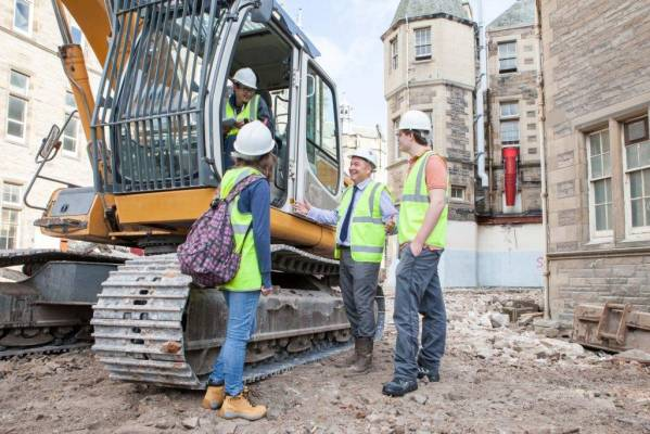 Unique insight into construction at Quartermile