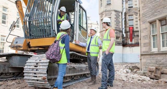Unique insight into construction at Quartermile