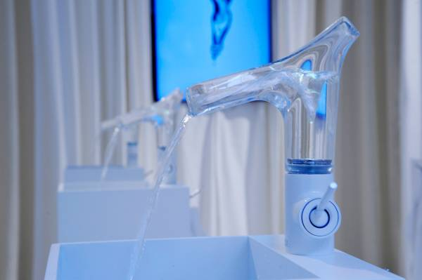 A glass tap full of innovation