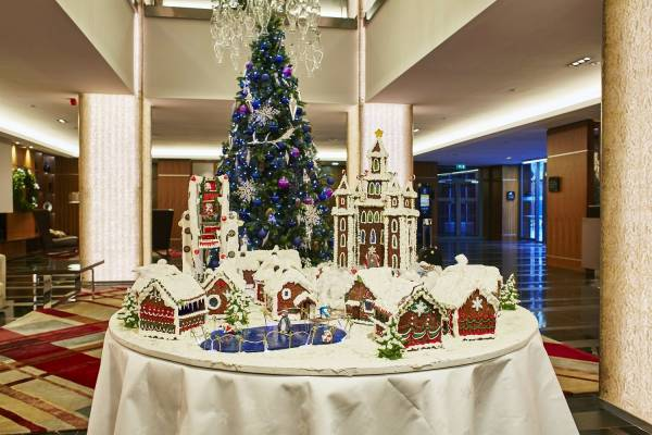 A Christmas Gingerbread Wonderland at the Sheraton Grand
